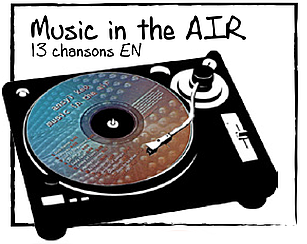 AnsylKep - Music in the air - 13 chansons en Anglais